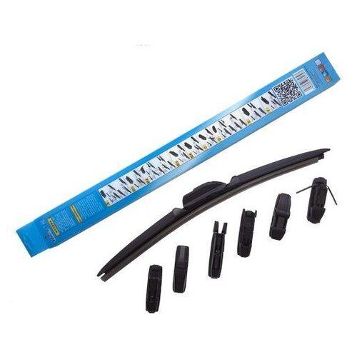 цена на Щетка стеклоочистителя бескаркасная RIYUE RYA911 9185785 650 мм, 1 шт.