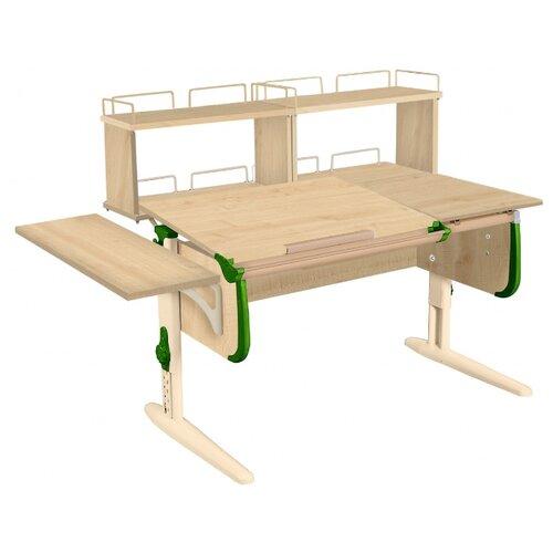 Стол ДЭМИ СУТ-25-02Д2 145x82 см клен/зеленый/бежевый стол дэми сут 25 02д2 145x82 см белый зеленый бежевый