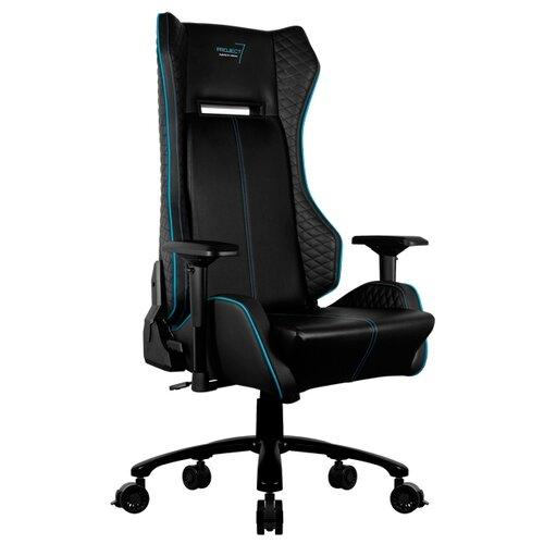 p7 ch2 air Компьютерное кресло AeroCool P7 GC1 AIR игровое, обивка: искусственная кожа, цвет: черный