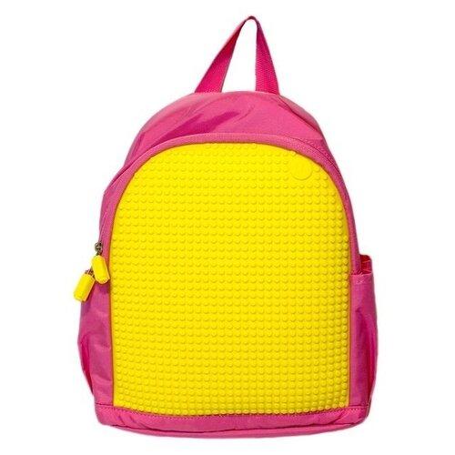 Фото - Upixel Рюкзак Mini Backpack (WY-A012), розовый/желтый upixel рюкзак canvas classic pixel backpack wy a001 желтый
