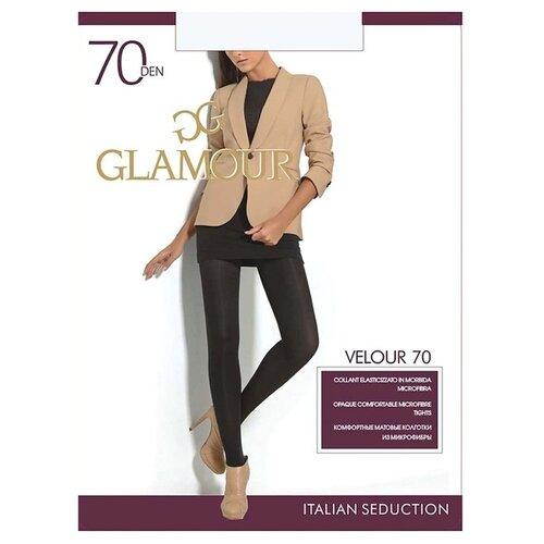Колготки Glamour Velour 70 den, размер 4-L, daino (бежевый) колготки glamour beauty shape 40 den размер 4 l daino бежевый