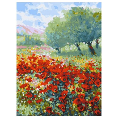 Купить Белоснежка Картина по номерам Весна в Провансе 30х40 см (299-AS), Картины по номерам и контурам