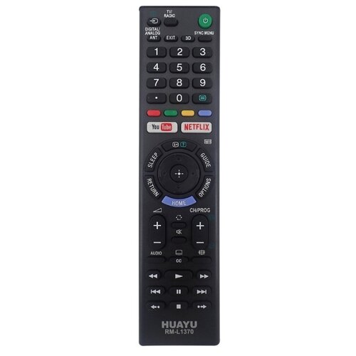 Пульт ДУ Huayu RM-L1370 для common LCD/LED TV Sony черный