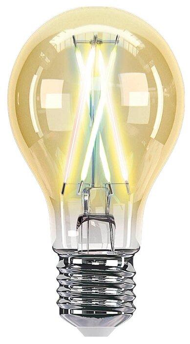 Лампа светодиодная HIPER IoT Filament Vintage, E27, A60, 7Вт фото 1