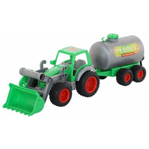 Купить Погрузчик Wader Фермер-техник с цистерной (37763) 57 см, Машинки и техника