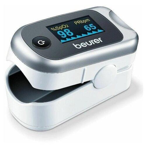 Пульсоксиметр Beurer PO 40, серый