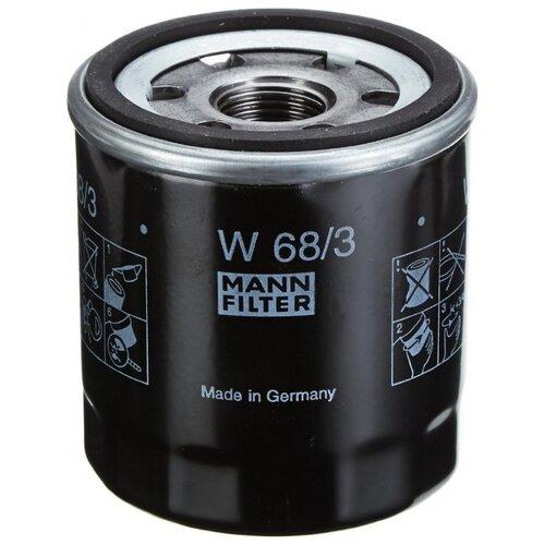 Масляный фильтр MANNFILTER W68/3 цена 2017