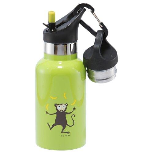 Фото - Термокружка Carl Oscar TEMPflask Monkey (0.35 л) лайм термокружка carl oscar click n´sip 0 4 л белый