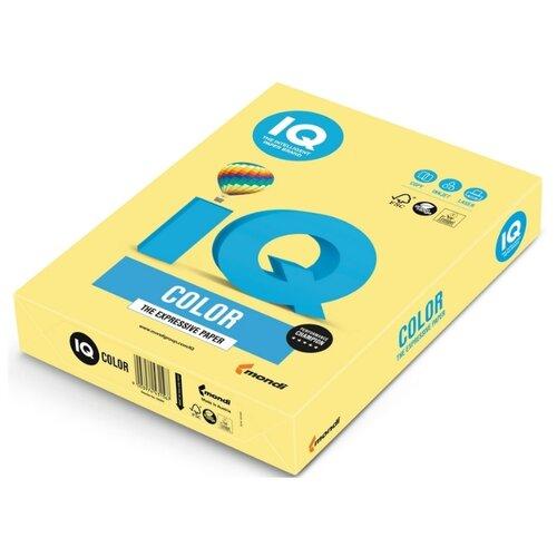 Фото - Бумага цветная IQ А4, 80 г, лимонно-желтый, пачка 500 листов (ZG34) бумага цветная а4 500л iq color 80г м2 желтый zg34 1520958