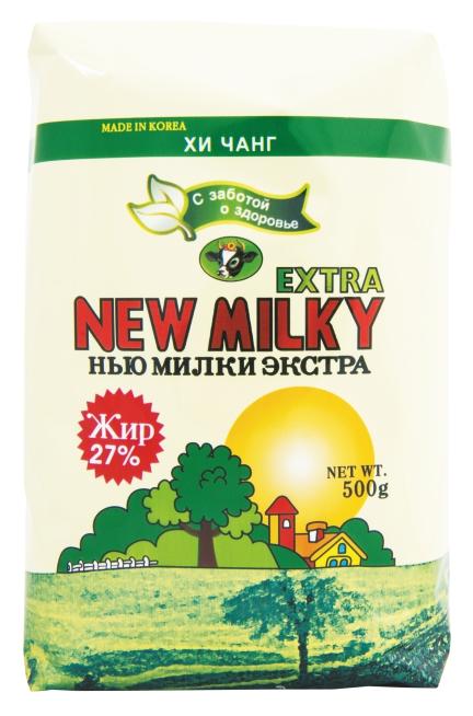 ХИ Чанг Заменитель молочного продукта New milky extra 27%