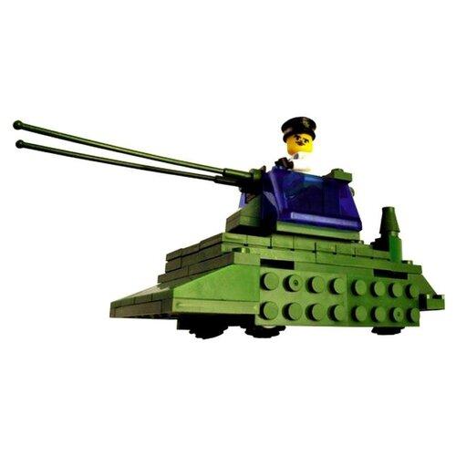 Конструктор Город Игр SuperBlock Военные маневры MF000126 Танк M
