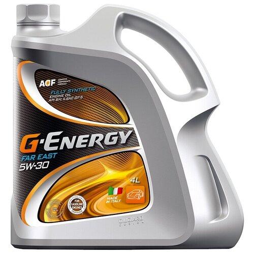 Фото - Синтетическое моторное масло G-Energy Far East Fully Synthetic 5W-30, 4 л синтетическое моторное масло g energy synthetic active 5w 30 4 л