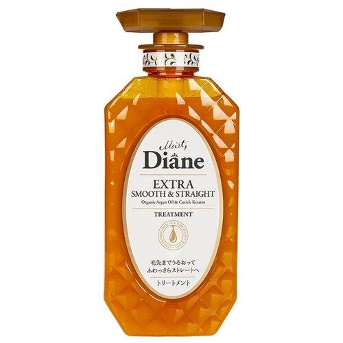 Moist Diane бальзам-маска Perfect Beauty Extra Smooth & Straight кератиновая Гладкость, 450 мл бальзам moist diane diane volume
