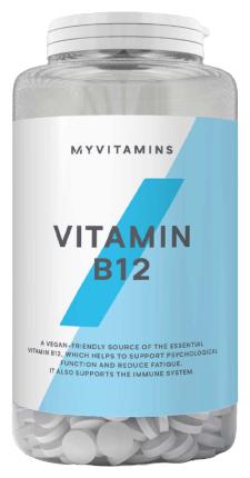 Витамин Myprotein Vitamin B12 (60 таблеток) — купить по выгодной цене на Яндекс.Маркете