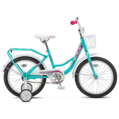 Детский велосипед STELS Flyte Lady 16 Z011 (2020) бирюзовый 11 (требует финальной сборки) велосипед stels pilot 350 20 z011 2017