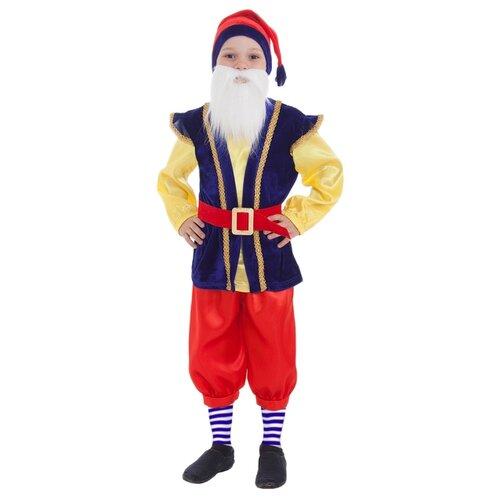 Костюм Страна Карнавалия Гномик (2618474-2618476), синий/красный, размер 28 страна карнавалия значок с днем рождения кружева красный цвет 1499750