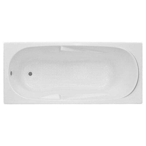 Ванна BAS Мальдива 160х70 без гидромассажа акрил левосторонняя/правосторонняя каркас для ванны bas мальдива рио ct00022