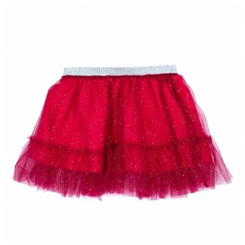 Купить Юбка playToday размер 86, темно-красный, Платья и юбки