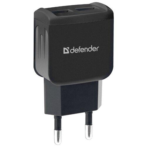 цена на Сетевая зарядка Defender UPA-22 черный