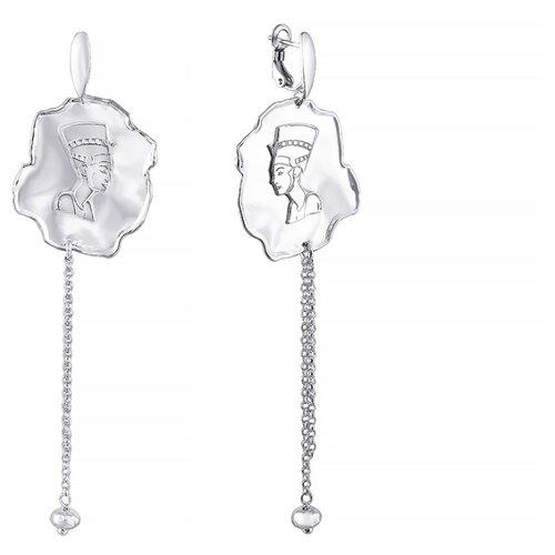 Фото - JV Серебряные серьги ES17-SR-WG jv серебряные серьги с рубином ek 1107 rb sr ru wg