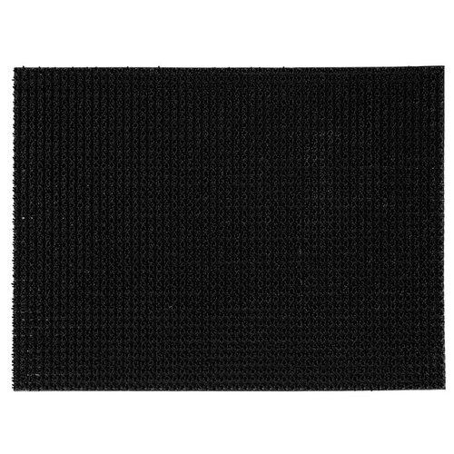 Ковровая дорожка VORTEX Травка, размер: 0.6х0.45 м, черный