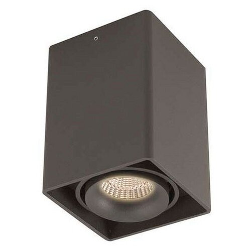 Спот Donolux DL18611/01WW-SQ Shiny black бра donolux w110218 2grey