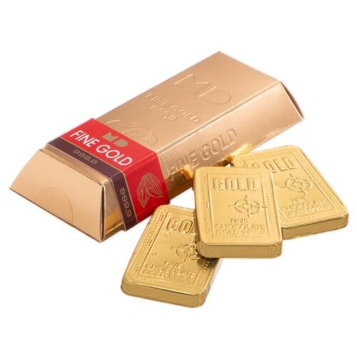 Шоколад Монетный двор Золотой Стандарт, горький, порционный, 60 г монетный двор сердечки набор молочный шоколад 75 г