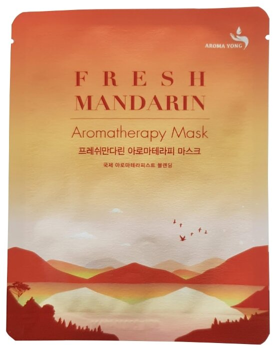 AROMA YONG маска Ароматерапия Fresh Mandarin Свежий Мандарин