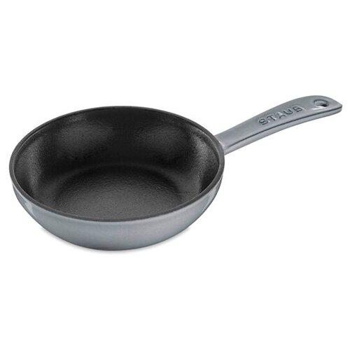 Фото - Сковорода , 16 см, чугун, серый, 1221618, STAUB сковорода staub 12302423 24 см