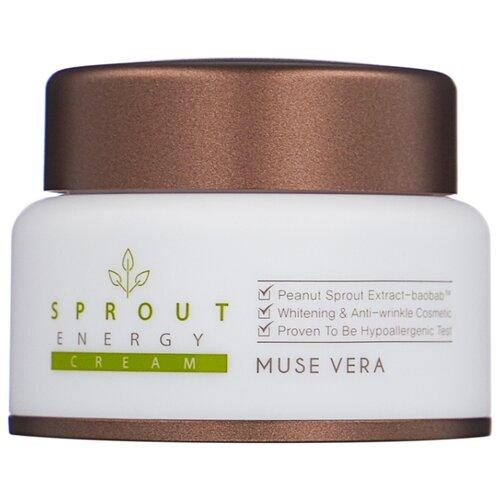 Muse Vera Muse Vera Sprout Energy Cream Крем для лица с экстрактом ростков баобаба, 50 мл эссенция для лица с экстрактом ростков баобаба 50мл deoproce musevera