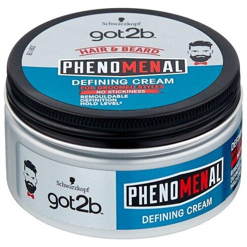 Got2b Крем для волос и бороды PhenoMENal Defining Cream, 100 мл