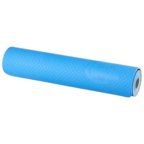 Коврик (ДхШхТ) 173х61х0.6 см Lite Weights 5460LW синий/антрацит