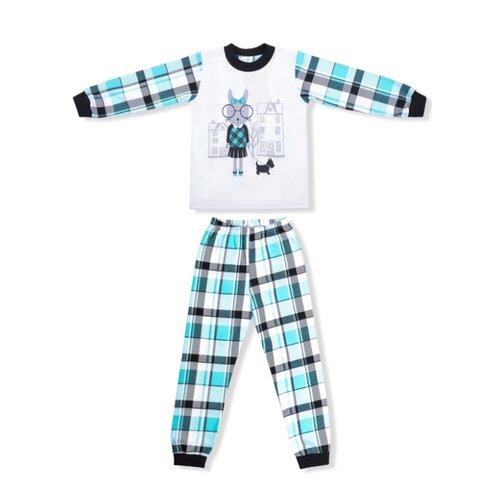 Купить Пижама LEO размер 92, бирюзовый, Домашняя одежда