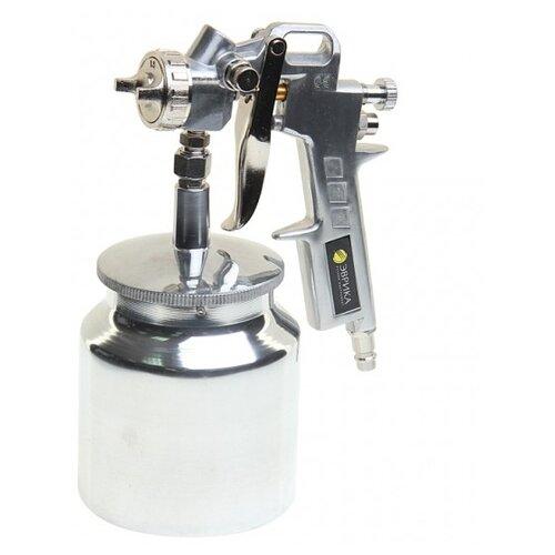 Краскопульт пневматический Эврика ER-76004 краскопульт пневматический калибр крп 0 8 0 12вб профи