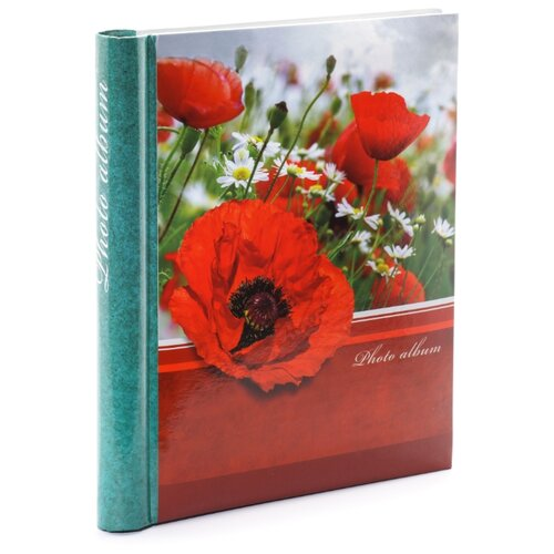 Фотоальбом Fotografia магнитный 23х28 см. 30 листов, FA-SA30 - 342, цветы (12)