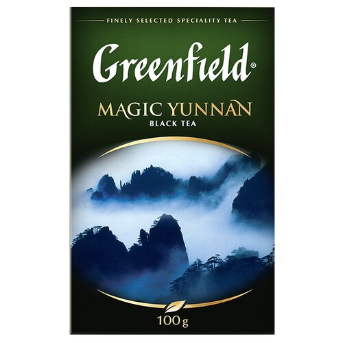китайский yunnan mini pu er спелый чай jasmine tea one 3 5 г f58 Чай черный Greenfield Magic Yunnan, 100 г