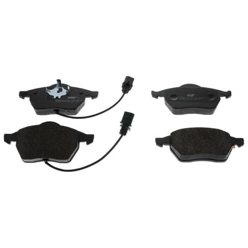Дисковые тормозные колодки передние Ferodo FDB1323 для Audi, Skoda, Volkswagen, SEAT (4 шт.) дисковые тормозные колодки передние marshall m2621974 для skoda volkswagen seat audi 4 шт