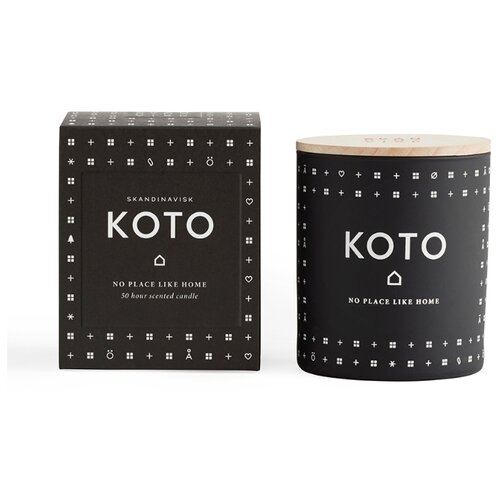 Свеча ароматическая KOTO с крышкой, 190 г