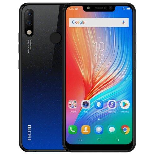 Смартфон TECNO Spark 3 Pro черно-синий градиент (TCN-KB8-NEBK)