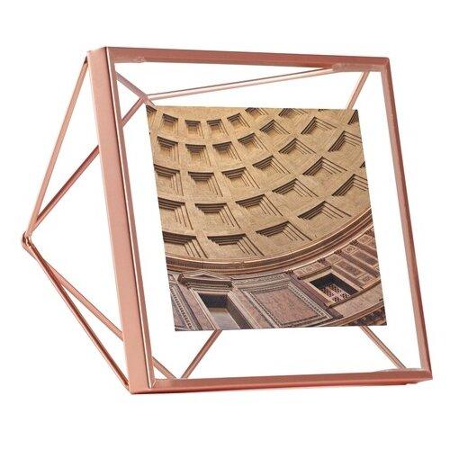 Фоторамка Umbra Prisma 10х10 медь декор для стен prisma медь
