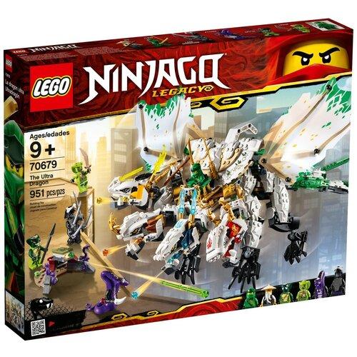 Фото - Конструктор LEGO Ninjago 70679 Ультра дракон конструктор lego ninjago 70599 дракон коула