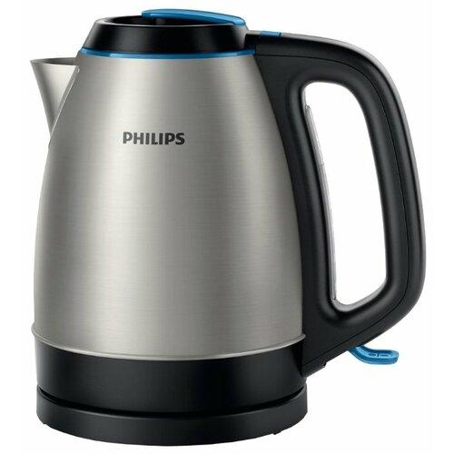 Чайник Philips HD9302, серебристый чайник электрический philips hd9302 2400вт серебристый и черный