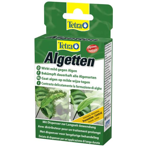 Фото - Tetra Algetten средство для борьбы с водорослями, 12 шт. tetra pond algofin средство для борьбы с водорослями в водоемах 1 л