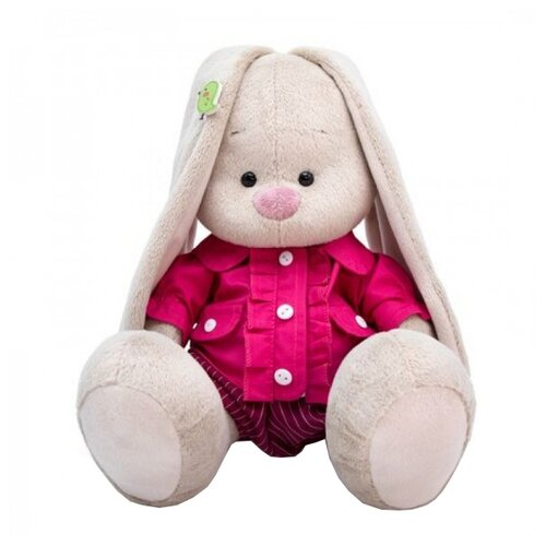 Фото - Мягкая игрушка Зайка Ми в курточке и шортиках 18 см мягкая игрушка зайка ми в лиловом 23 см
