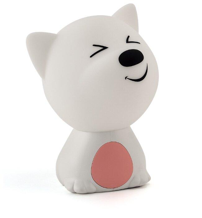 Ночник Lucia 121 Пёс Барбос (розовый/белый)