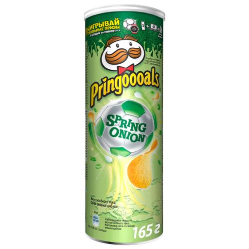 Чипсы Pringles картофельные Spring onion, 165 г чипсы pringles картофельные crab 70 г