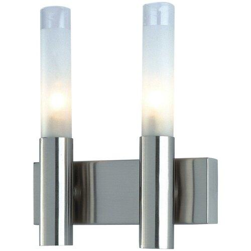 Настенный светильник De Fran WLK-022-2-SN, 80 Вт люстра de fran sp1 1502 3wo