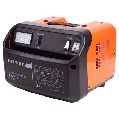 цена на Зарядное устройство PATRIOT BCT-10 Boost черный/оранжевый