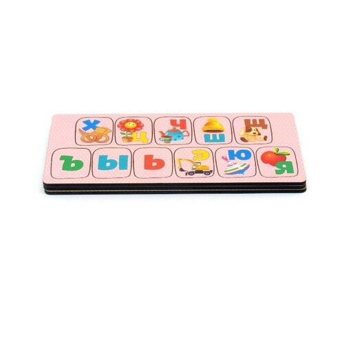 Купить Набор рамок-вкладышей PAREMO Алфавит Игрушки (PE720-169), Пазлы