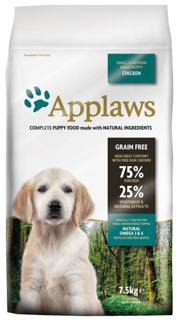Корм для щенков Applaws курица 15 кг